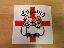 England / George Cross / Bulldog sticker - 100mm diameter decal