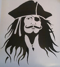 Jack Sparrow Pirates Of The Caribbean Vinyl Decal Sticker / Transfer