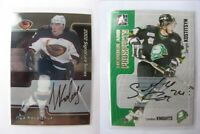 2005-06 ITG Heroes and Prospects A-SKO Kostitsyn Sergei  autograph auto #2