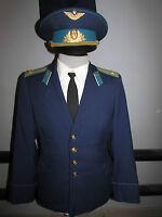 Russian soviet parade uniform llieutenant colonel of military air forces USSR