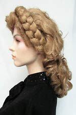 RAM Light Blonde Wig Braided Headband Braid RAM Woman English French Reinassance