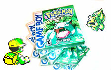 POKEMON VERDE CON SCATOLA INGLESE Custom GAMEBOY COLOR GBA Gameboy Advance Con Scatola