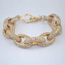 Diamond Rhinestone Alloy Costume Bracelets