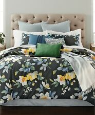 Martha Stewart Collection Contrast Blooms 14-Pc. King Comforter Set