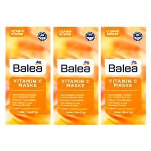 Whitening Vitamin C Face Mask 48g Brightens Pigment Spots Lightens x 6 Sachets