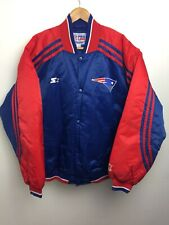 New England Patriots STARTER Jacket Size Large Pro Line NFL Football