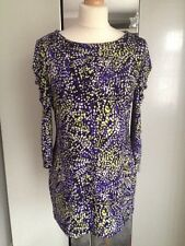 Country Casnuals Petite!! Multi Print Long Top!! Sz M!! Worn Once!!