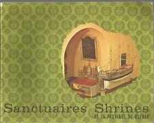 Sanctuaires Shrines De La Province De Quebec  PB