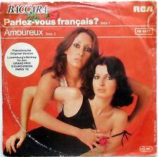 DISCO VINILE 45 GIRI BACCARA PARLEZ VOUS FRANCAIS? AMOUREUX GERMANY 1978