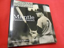 Great Vintage Baseball Book-SPORTS ILLUSTRATED Presents MANTLE REMEMBERED
