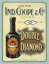 Ind Coope Beer Ale Metal Sign Double Diamond Pub Club Man Cave IPA Advertising