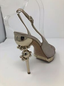 Dior Beige/Argent shoes size 36.5