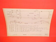 1949 1950 1951 1952 DODGE WAYFARER CORONET MEADOWBROOK FRAME DIMENSION CHART