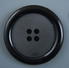 "20 LARGE Black Buttons BULK 1 1//8/"" pick 12 styles  29mm for Halloween costumes"