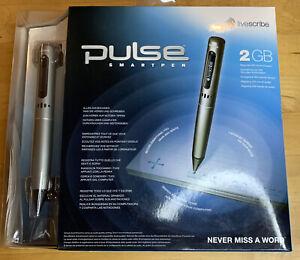 Pulse Smartpen 2 GB NEW Livescribe Pen computer Mac PC Boxed