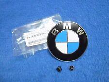 BMW e46 3er Compact Emblem NEU Logo Heckklappe Kofferraum hinten Badge Trunk Lid