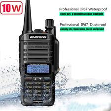 Baofeng UV-9R Plus Waterproof Walkie Talkie 12W 128CH VHF/UHF CTCSS/DCS 6800mAh