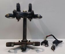 1980 Honda CM400T CM400 T OEM Key Ignition Steering Lock Set Triple Clamp Tree