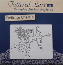 Tattered Lace Angel DELICATE CHERUB Die Cupid Arrow Metal Cutting Die - D960