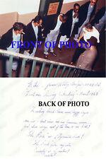 "James ""Whitey"" Bulger Boston Godfather Mobster, Alcatraz, SIGNED PHOTO AUTOGRAPH"