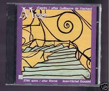 MACHAUT CD NEW MESSE / 2746 AFTER ROME/ JEAN MICHEL BOSSINI