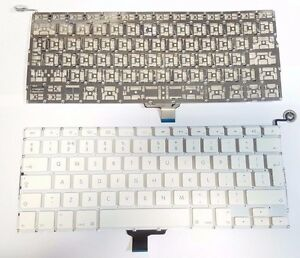 """APPLE MACBOOK UNIBODY 13"""" A1342 UK KEYBOARD WITH Power Button Year 2009 2010"""