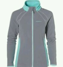 O'NEILL Womens Siberian Grey Ventilator Full Zip Fleece Jacket Ladies XL BNWT