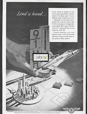 CONVAIR 1954 LEND A HAND GROUND OBSERVER DELTA WING F-102 INDICATOR RING AD