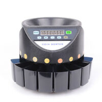 Electric Coin Counter Sorter Machine Cash Money Counting Digital Display Count