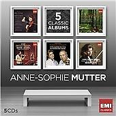 Anne-Sophie Mutter - 5 Classic Albums,  CD | 5099997291220 | New