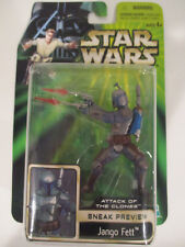 Hasbro Star Wars AOTC Sneak Preview Jango Fett 2001 New