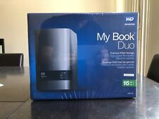 Western Digital WD 16TB My Book Duo RAID Hard Drive HD 8TB X 2 WDBLWE0160JCH