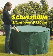 NEU Schutzhülle Haube Cover für ihre Gartensitzgruppe Ø 320cm 79246