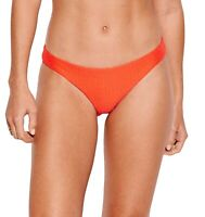 Seafolly Womens Swimwear Orange US Size 10 La Luna Hipster Bikini Bottom $62 461