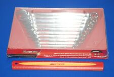 NEW Snap-On Tools 10 Piece SAE Flank Drive Plus Combo Wrench Set SOEX710