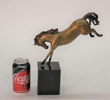 Museum Quality Classic Artwork Arabian Horse Stallion Horse Genuine Bronze Statu