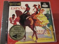 "CSCD 6006 A. ARGENTA-LONDON SYMPHONY "" ESPANA "" (CLASSIC RECORD GOLD-CD/SEALED)"