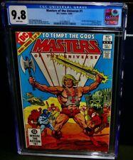 CGC 9.8 MOTU HE-MAN Comic Book #1 D.C. Comics, Masters Of The Universe 12/82