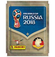 Panini WM 2018 Russia World Cup Sticker 100 Tüten / 500 Sticker