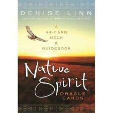 Native Spirit Oracle Cards a 44-card Deck and Guidebook 9781401945930 Linn