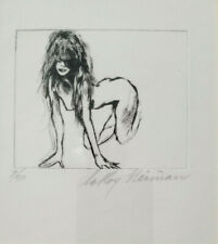 LEROY NEIMAN 1976 ORIGINAL ETCHING + HAND SIGNED AND NUMBERD 7/50
