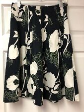Talbots Full Flowered Pleated Skirt Size 6 NWOT USA Seller ** Free Shipping**