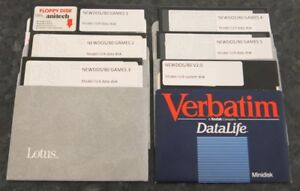 6 Disks with 50+ Games for the TRS-80 Model III and 4 plus system boot disk