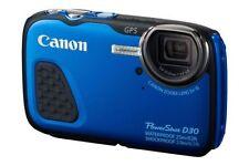 Appareils photo numériques bleus Canon