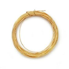 22 Gauge Sterling Silver Plated 24K GOLD COLOR COPPER Jewelry Wire - 10 yards