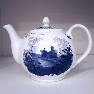 Aynsley Archive Blue Teapot m/s