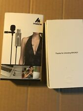 Maono Au-410 Lavalier Microphone Handsfree Clip On Interview Vocal Recording