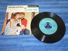 """Single 7"""" HEIDEWITZKA - Stimmungslieder für alt und jung-Baccarola26 040V - 1961"""
