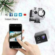 AKASO Brave 6 WiFi 4K HD 20MP Action Camera Voice Control Underwater 6X Zoom EIS