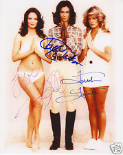 CHARLIES ANGELS TV CAST AUTOGRAPH SIGNED PP PHOTO POSTER